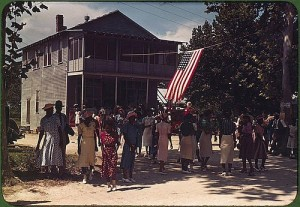 A Fourth of July celebration. St. Helena Island, South Carolina, 1939. Photo by Marion Post Wolcott.